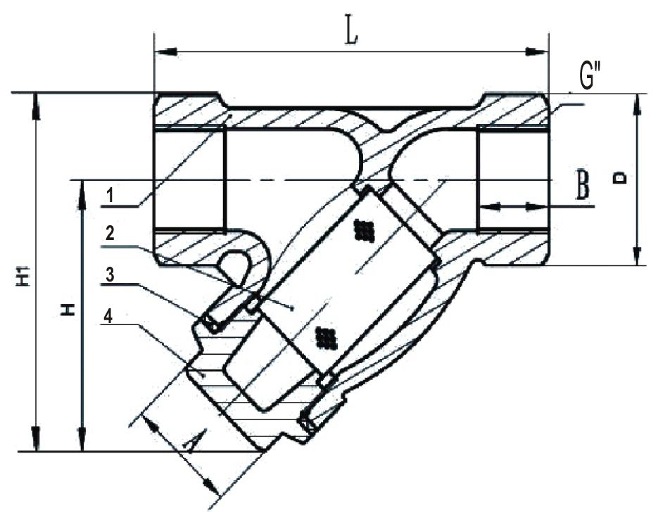 Фильтр магнитный резьбовой ФММ