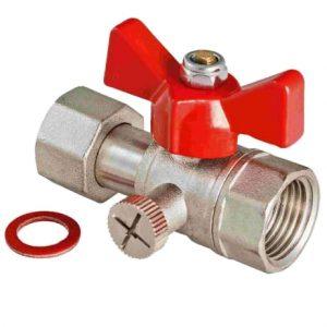 Кран шаровой для подключения манометра. Модель VT.807