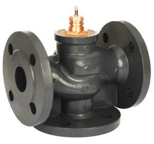 Клапан регулирующий седельный трехходовой VF3