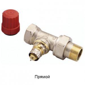 Клапаны терморегулятора c предварительной настройкой RTR-N и RА-NCX